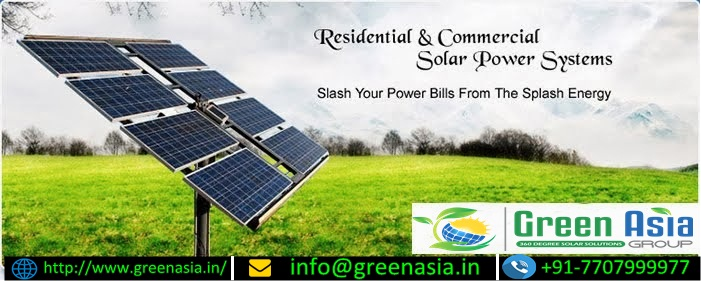 Best solar company in Chandigarh | Green Asia group