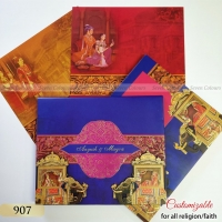 Sikh wedding cards - Indian Wedding cards - ScrollList.com