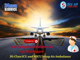 Air Ambulance Services - Sky Air Ambulance - ScrollList.com