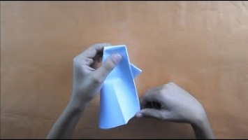 How to Make an Origami Paper Popper | Arte del origami, Origami ... | 200x355