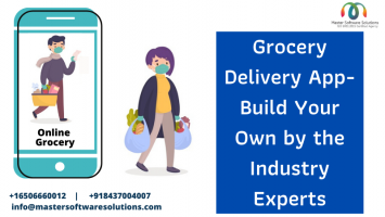Grocery Delivery App - Master Software Solutions - ScrollList.com