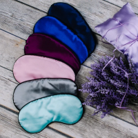 Satin Sleep Mask -  - ScrollList.com