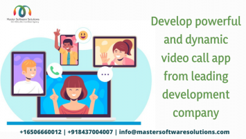 Video Chat App Development - Master Software Solutions - ScrollList.com