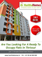 Ready To Occupy Flats in Thrissur Haritha Homes - Haritha Homes Thrissur - ScrollList.com