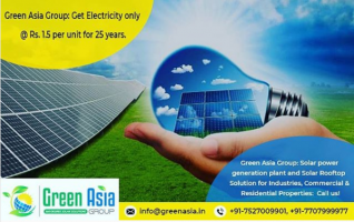Best solar company in Chandigarh - Green Asia group - ScrollList.com