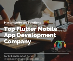 Flutter Mobile App Development - Master Software Solutions - ScrollList.com